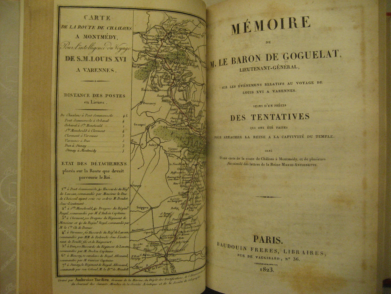 Goguelat + map