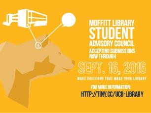 Moffitt Library Student Advisory Council