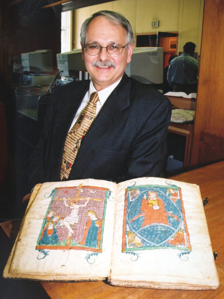 Charles Faulhaber is one of two UC Berkeley professors elected to Royal Spanish Academy. (University Library archive photograph)