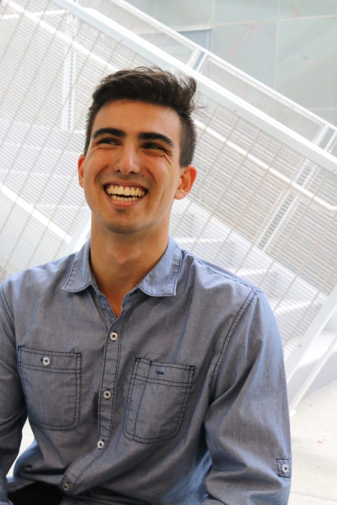 Francisco Peralta ('18), co-founder of EnableTech