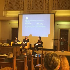 A panel discussion about the Legal Strategies and Practices for libraries.