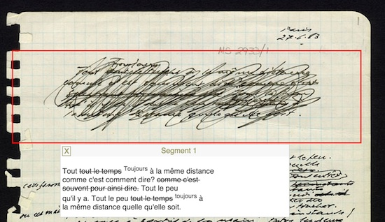 Image result for samuel beckett digital manuscript project