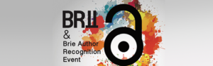 BRII and Brie author recognition event banner