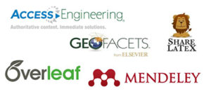 Logos of the 5 research tools