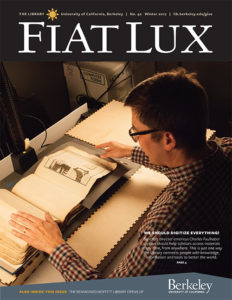 The cover of Fiat Lux Winter 2017