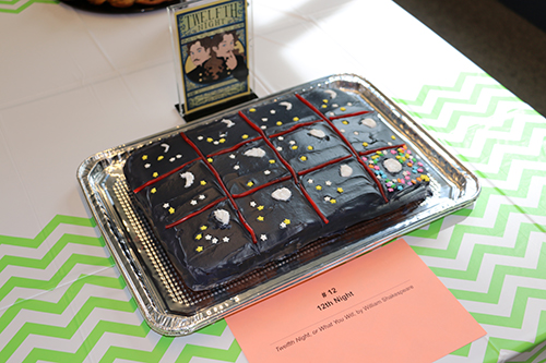 '12th Night,' an entry in the Edible Book Festival