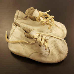 Gwendolyn Brooks's son's baby shoes