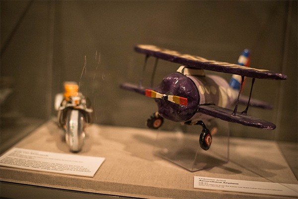Items in the new exhibit at The Bancroft Library