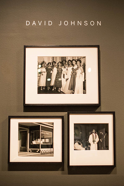 Photographs by David Johnson in the new Bancroft Library exhibit