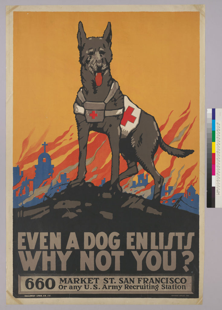 American war posters from the First World War