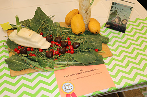 'Love in the Thyme of Collard Greens,' an entry in the Edible Book Festival