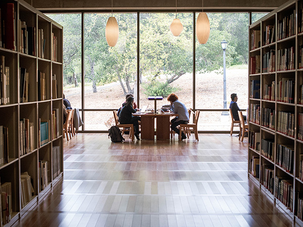 The reading room of the C.V Starr East Asian Library