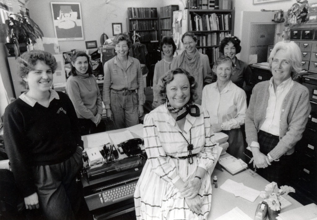 Photo of ROHO staff mid-1980s