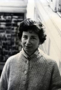 Photo of Malca Chall, December 1965