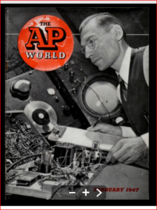 cover of magazine ap world