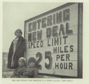 "Sign reading ""entering new deal speed limit 25 miles per hour"""