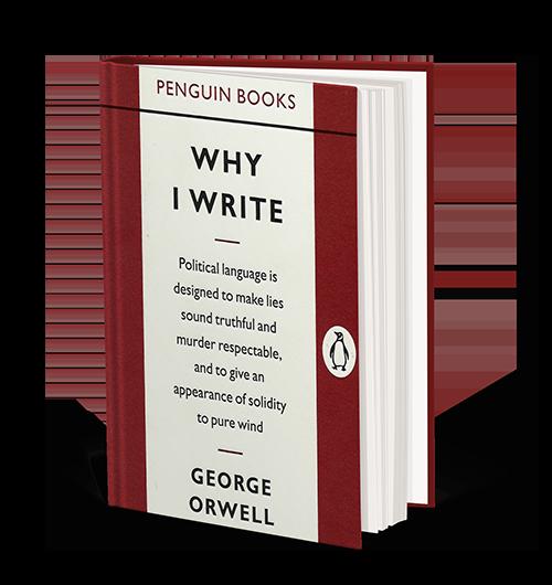 orwell why i write amazon