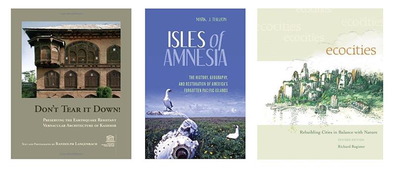 Three books for the ENVI book talk