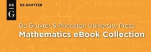 De Gruyter and Princeton Mathematics eBook Collection logo