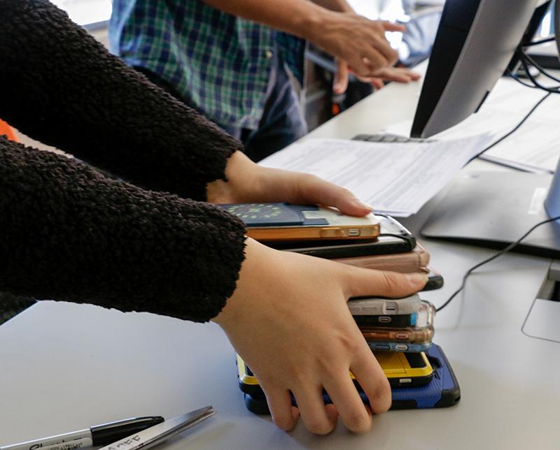 student phones
