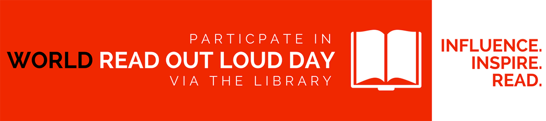 World Read Out Loud Day: Influence, Inspire, Read