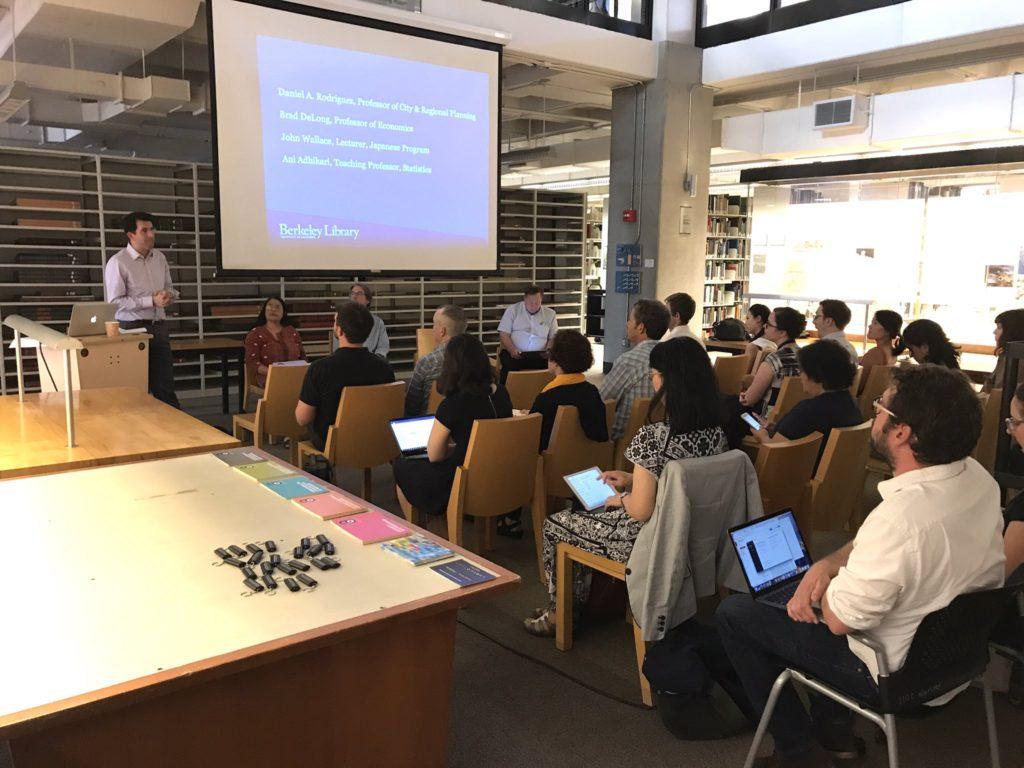 October 27, 2017 Instructor Affordability Panel / photo courtesy Rachael G. Samberg