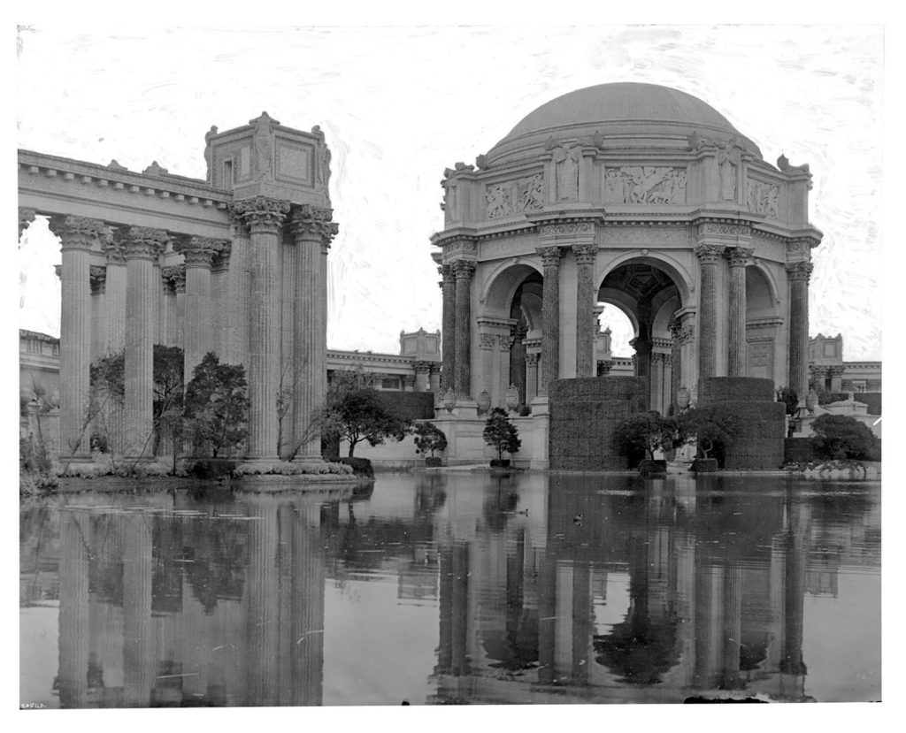 Palace of Fine Arts building, Panama-Pacific International Exposition