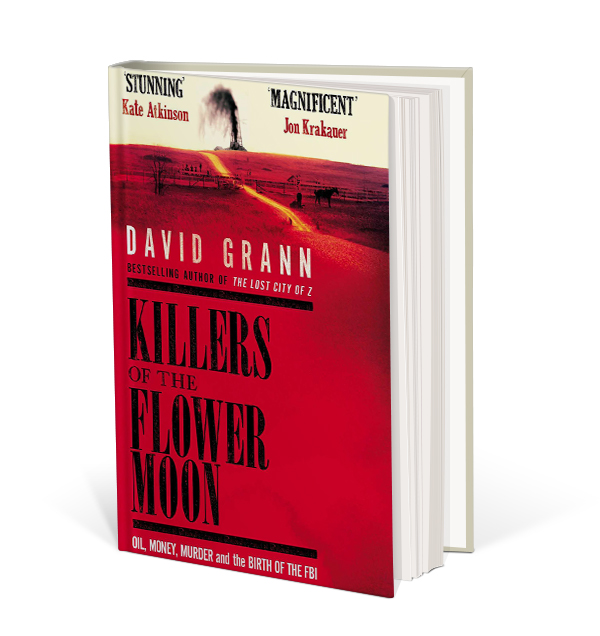 Killers of the Flower Moon book cover