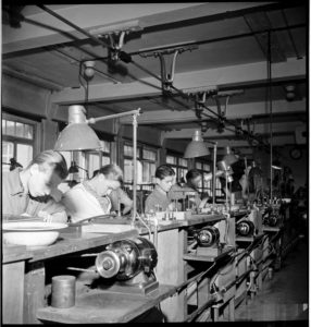 Leica factory, Germany circa 1945