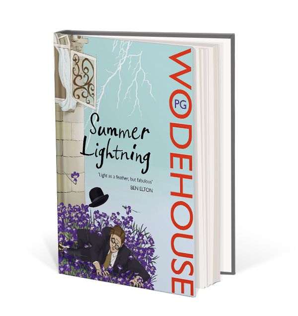 Summer Lightning book cover