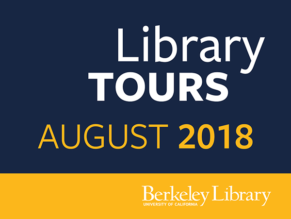 Library tours August 2018