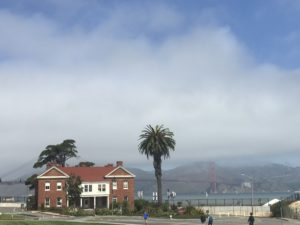 The view from the Presidio in San Francisco