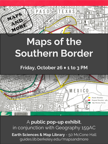Maps of the Southern Border