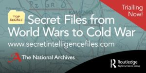 Secret files from World Wars to Cold War