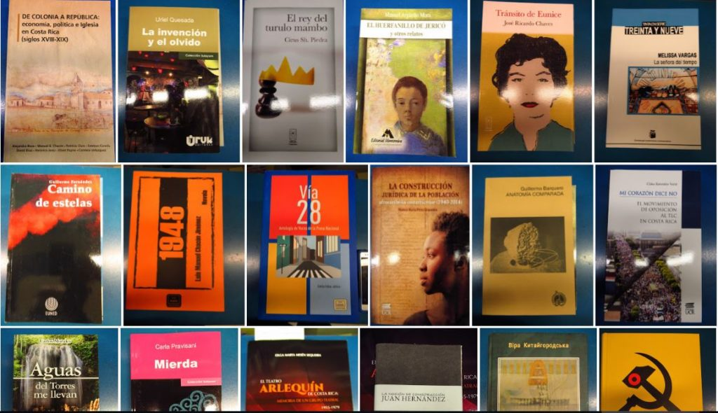 Select new books from Costa Rica @ Doe Library – UC Berkeley