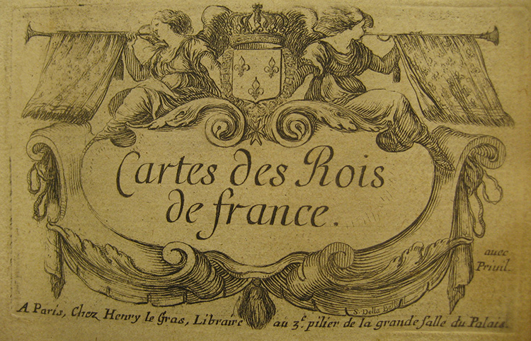 Cartes des rois de France