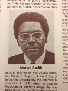 Norvel L. Smith, UC Employee newsletter, 1975