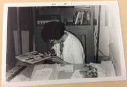 Signing Student Yearbooks at Oakland Tech, June 1967