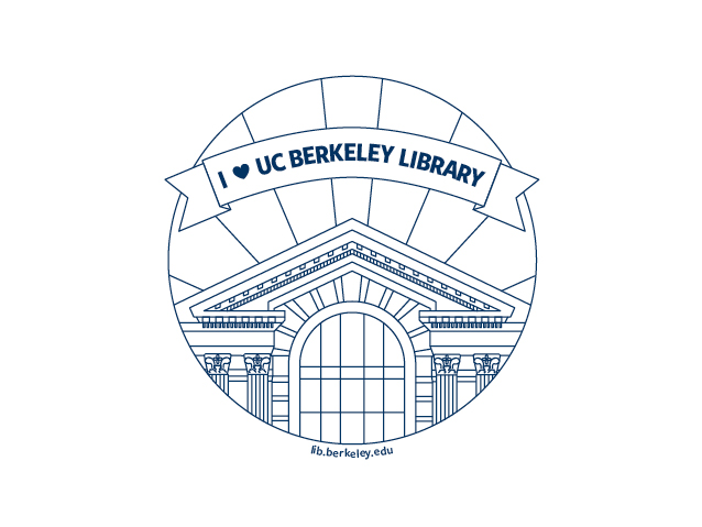 I love UC Berkeley LIbrary