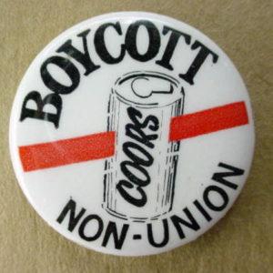 Boycott Coors Non Union
