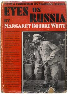Book cover of Margaret Bourke-White's Eyes on Russia (1931)