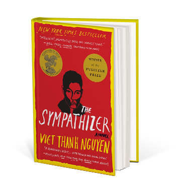 Book cover for The Sympathizer