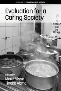 book cover image for Evaluation for a Caring Society