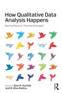 "book cover image for How Qualitative Data Analysis Happens: Moving Beyond ""Themes Emerged"""