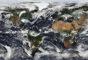 NASA Cloudy Skies July 11, 2005
