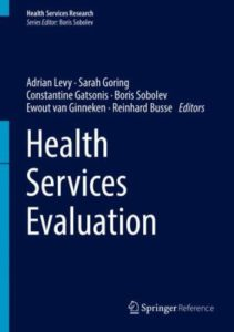 book cover image for Health Services Evaluation