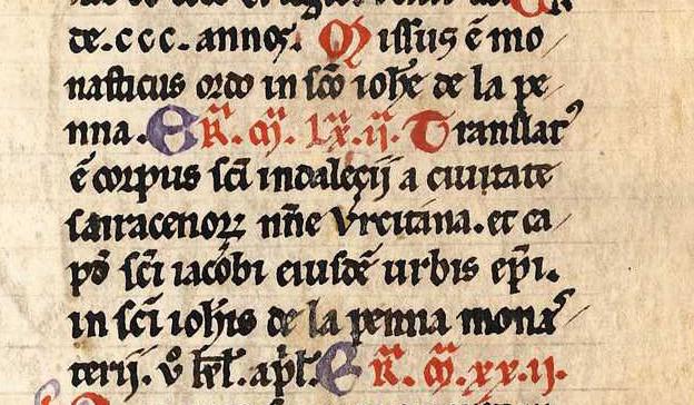 Den Arnamagnæanske håndskriftsamling MS AM 805 4to, f. 102rb texto