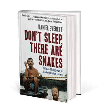 Book cover for Don't Sleep There Are Snakes