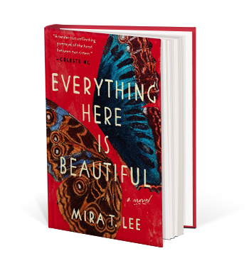 Book cover for everything here is beautiful