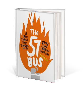 Book cover for The 57 Bus